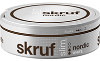 Skruf Slim Nordic White Portion