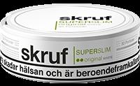 Skruf Super Slim Original White